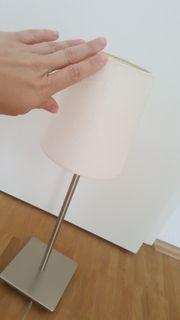 Hübsche Ikea Lampe weiß