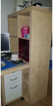 Schreibtisch mit Roll Container
