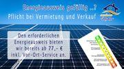 Energie-Verbrauchsausweis für Hausverkäufer und Vermieter