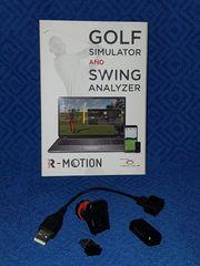 Golf-Simulator Schwung-Analyzer R-Motion - Set RM01A
