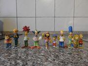 Simpsons Überraschungseier-Figuren ohne BZP