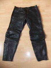 Herrenmotorradlederhose