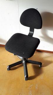 Bürostuhl Universal-Stuhl Schwarz verstellbarer Drehstuhl