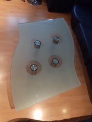 Designer Glas Tisch Couchtisch Wohnzimmertisch