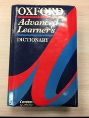 Oxford Dictionary Englisch einsprachiges Wörterbuch