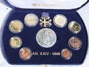 VATIKAN Kursmünzensatz KMS 2002 PP