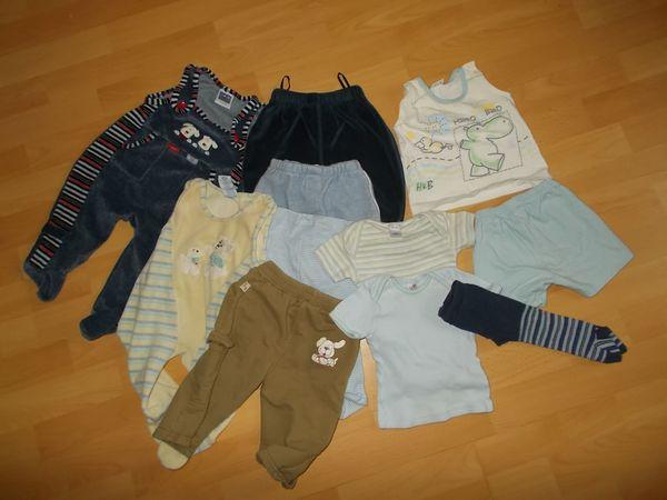 11 Teiliges Bekleidungs Paket Jungen