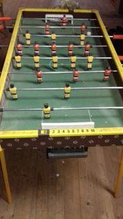 Tischfußball Kicker