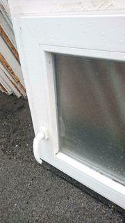 VEKA Badfenster 118 cm breit
