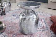 NEU Beistelltisch Orient 36cm Aluminium