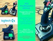Logitech X52 Professional HOTAS Joystick