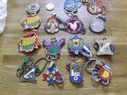verschiedene Faschingsorden Medaillen Abzeichen