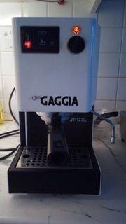 Gaggia Classic Espresso Kaffeemaschine Macht