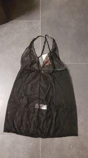 Sexy schwarzes Negligee
