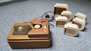 Tefifon Schallbandspieler und Kassetten 50er