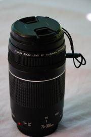 Canon EF 75-300 4-5 6
