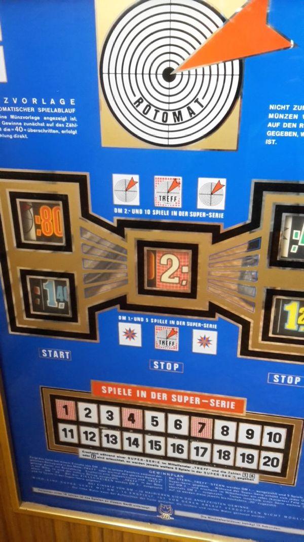 Spielautomat TREFF-ULTRA mit DM-Einwurf