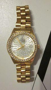 Armbanduhr LASCONO classic vergoldet