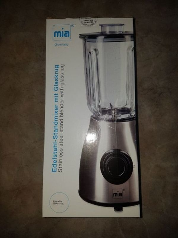 Standmixer NEU Glaskrug Mixer Smoothie