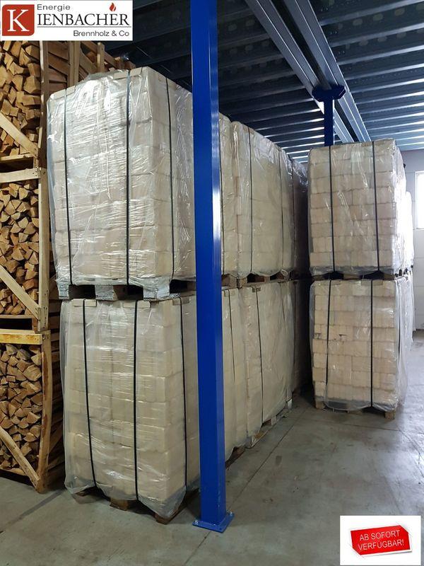Holzbriketts 960kg Palette 96x10kg RUF-Form