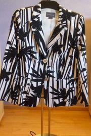 Designer Damen-Blazer Gr 42 schwarz