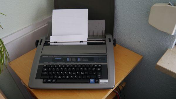 elekt Schreibmaschine Panasonic KX-R191