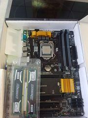 Verkaufe Xeon e3-1231v3 GA-Z97P-D3 16