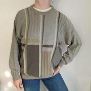 Vintage Pullover Pulli 48 Cardigan