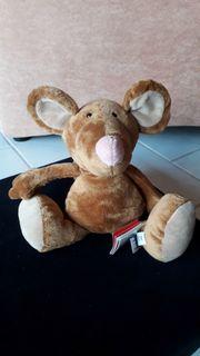 Sigikid Kuscheltier Maus ca 30cm
