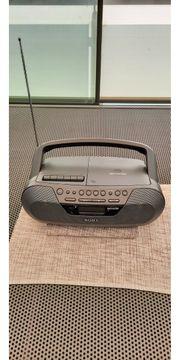 Kofferradio von Sony mit CD -