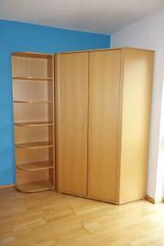 Eck-Kleiderschrank Buche von Paidi mit