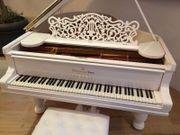 Steinway A 188 Paderewski weiß