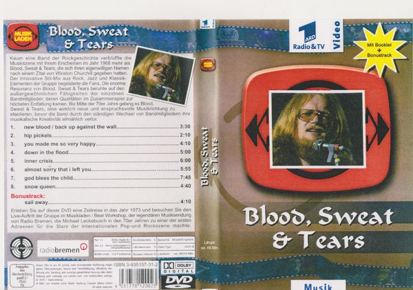 Musik - DVD Blood Sweat Tears -