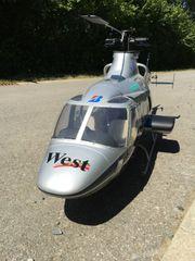 Vario Bell-430 Turbinen Heli mit