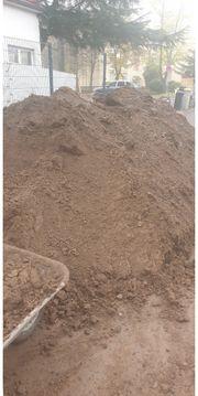 Mutterboden Muttererde Erde Erdaushub Lehmboden