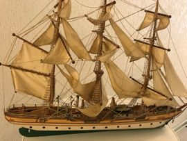 RC-Modelle, Modellbau - Segelschulschiff Gorch Fock