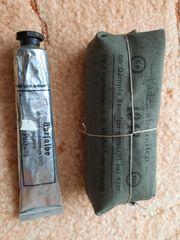 WK 2 Original Verbandspäckchen und