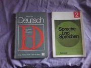 2 Schulbücher 80 er Jahre