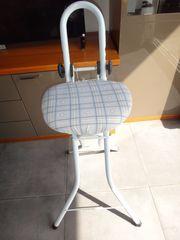 Stehhilfe Sitzhilfe Bügelhilfe Stehsitz Bügelstuhl