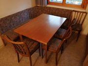 Eckbank ausziehbarer Tisch und 4