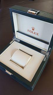 Rolex Uhrenbox mit Umkarton Box