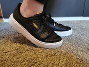 Damen Puma Basket Platform Sneaker