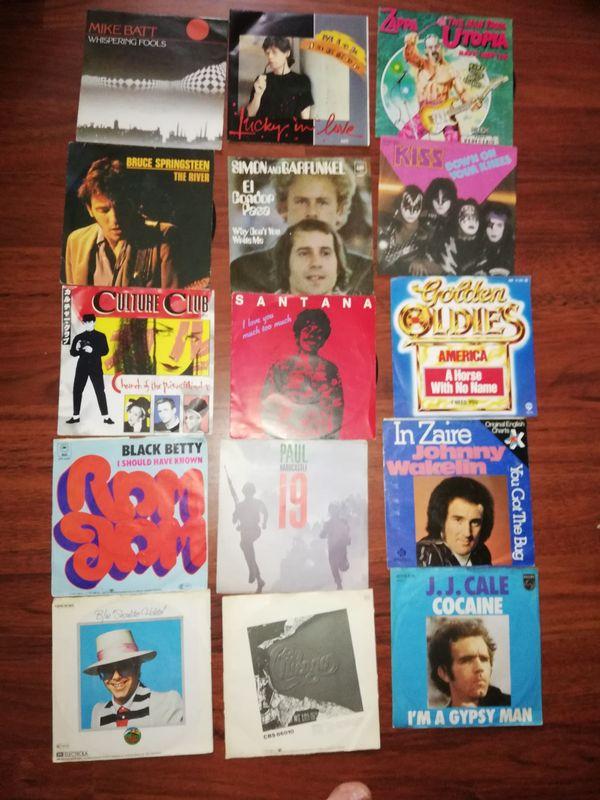 Schallplatten LPs und Singels
