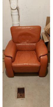 Couch 3Sitzer und Sessel neuwertig