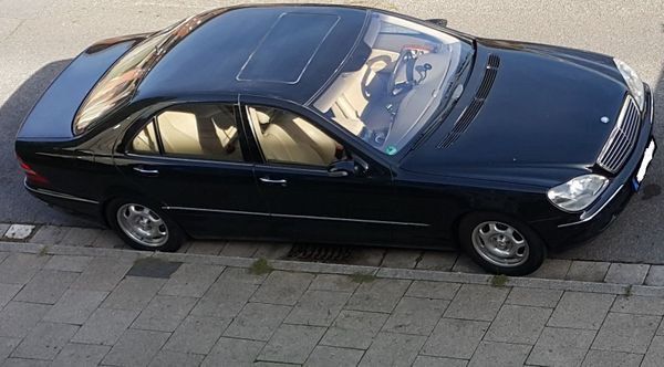 Mercedes-Benz S500L TÜV 09 2021