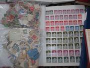 Briefmarkensammlungen zB SBZ Deutsches Reich