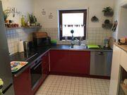 Einbauküche Küche mit E-Geräten