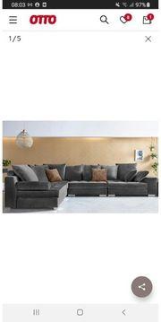 sofa xxl grau
