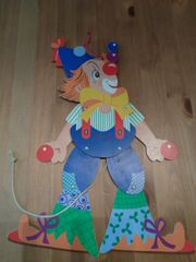 Hampelmann Jongleur Dekoration Kinderzimmer