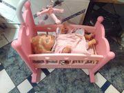 Verkaufe Puppenbettwiege Top Zust